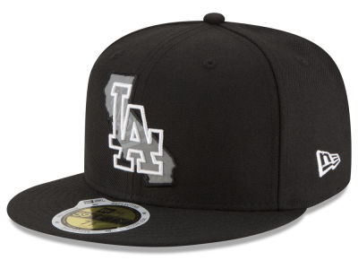 Los Angeles Dodgers MLB State Reflective Dub 59FIFTY Cap Hats