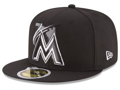 Miami Marlins MLB State Reflective Dub 59FIFTY Cap Hats
