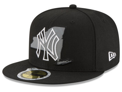 New York Yankees MLB State Reflective Dub 59FIFTY Cap Hats
