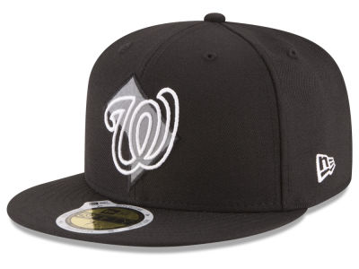 Washington Nationals MLB State Reflective Dub 59FIFTY Cap Hats