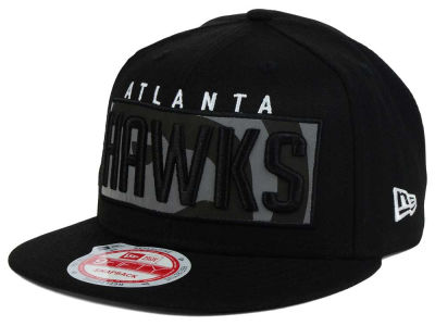 Atlanta Hawks NBA HWC Dub Reflective 9FIFTY Snapback Cap Hats