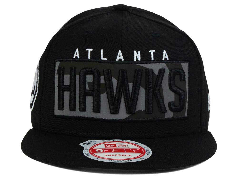 Atlanta Hawks New Era NBA HWC Dub Reflective 9FIFTY Snapback Cap on sale 01f318d4f531