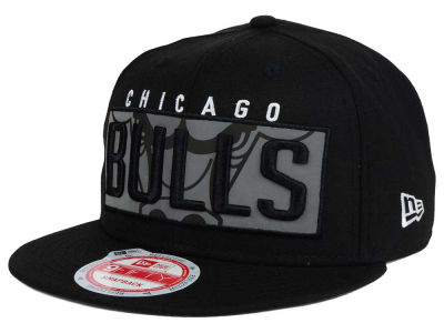 Chicago Bulls NBA HWC Dub Reflective 9FIFTY Snapback Cap Hats