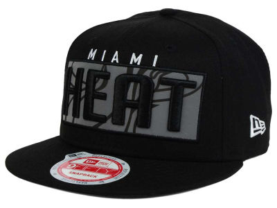 Miami Heat NBA HWC Dub Reflective 9FIFTY Snapback Cap Hats