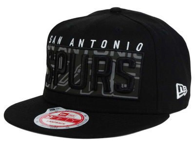 San Antonio Spurs NBA HWC Dub Reflective 9FIFTY Snapback Cap Hats