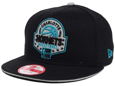 Charlotte Hornets NBA HWC The Heather Patch 9FIFTY Snapback Cap Hats
