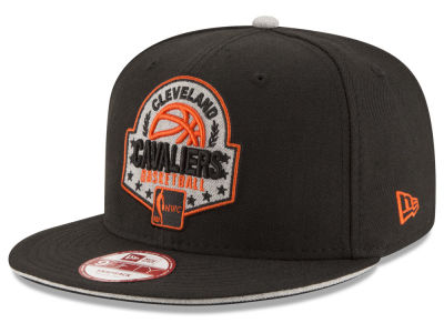Cleveland Cavaliers NBA HWC The Heather Patch 9FIFTY Snapback Cap Hats