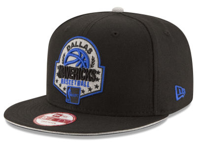 Dallas Mavericks NBA HWC The Heather Patch 9FIFTY Snapback Cap Hats