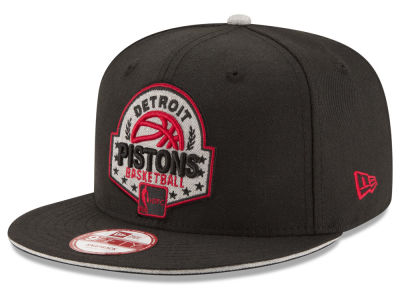Detroit Pistons NBA HWC The Heather Patch 9FIFTY Snapback Cap Hats