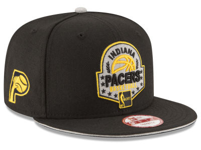 Indiana Pacers NBA HWC The Heather Patch 9FIFTY Snapback Cap Hats