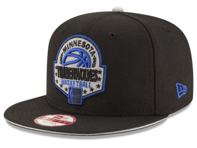 Minnesota Timberwolves NBA HWC The Heather Patch 9FIFTY Snapback Cap Hats