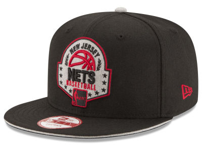 New Jersey Nets NBA HWC The Heather Patch 9FIFTY Snapback Cap Hats