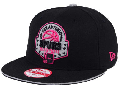 San Antonio Spurs NBA HWC The Heather Patch 9FIFTY Snapback Cap Hats