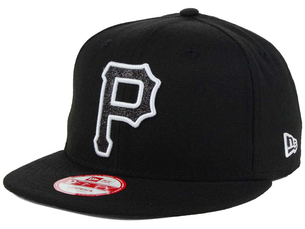 the latest a6da9 59129 Pittsburgh Pirates New Era MLB Black-Tallic 9FIFTY Snapback Cap on sale