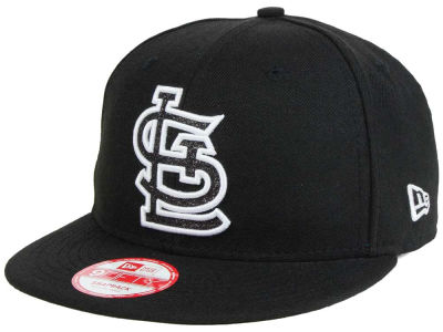 St. Louis Cardinals MLB Black-Tallic 9FIFTY Snapback Cap Hats