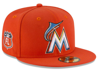Miami Marlins MLB Rep Your Team 59FIFTY Cap Hats