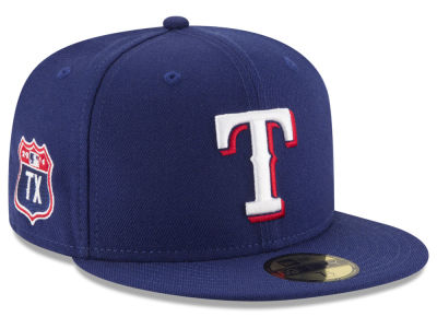 Texas Rangers MLB Rep Your Team 59FIFTY Cap Hats