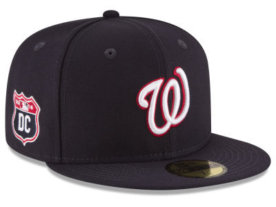 Washington Nationals MLB Rep Your Team 59FIFTY Cap Hats