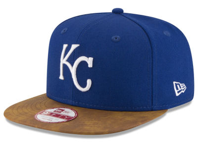 Kansas City Royals MLB Team Butter 9FIFTY Snapback Cap Hats