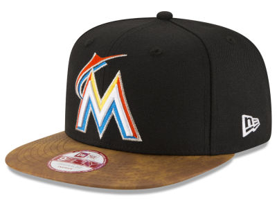 Miami Marlins MLB Team Butter 9FIFTY Snapback Cap Hats