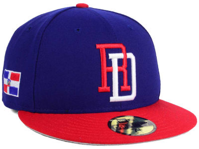 Dominican Republic 2017 World Baseball Classic 59FIFTY Cap Hats