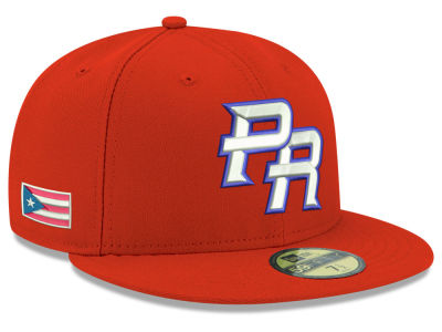 Puerto Rico 2017 World Baseball Classic 59FIFTY Cap Hats