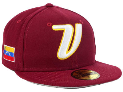 Venezuela 2017 World Baseball Classic 59FIFTY Cap Hats