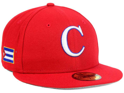 Cuba 2017 Custom World Baseball Classic 59FIFTY Cap Hats