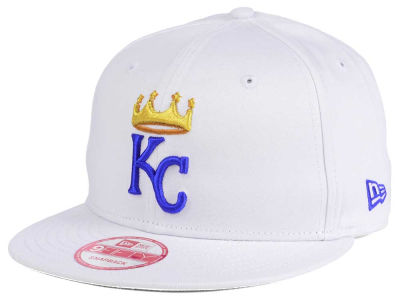 Kansas City Royals MLB De Customs 9FIFTY Snapback Cap Hats