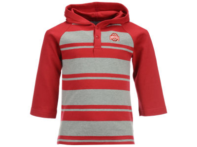 NCAA Toddler Rugby Hooded Long Sleeve Shirt