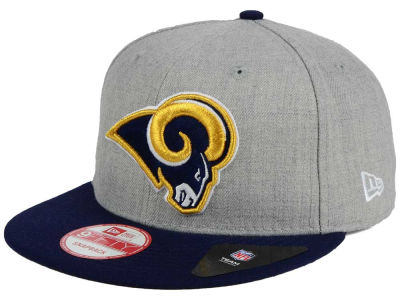 Los Angeles Rams NFL Heather 2 Tone 9FIFTY Snapback Cap Hats