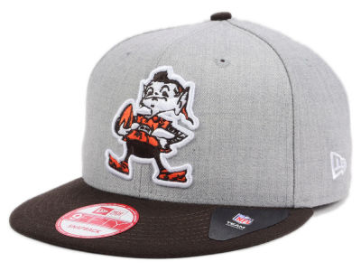 Cleveland Browns NFL Heather 2 Tone 9FIFTY Snapback Cap Hats