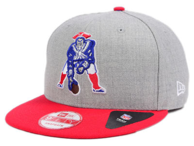 New England Patriots NFL Heather 2 Tone 9FIFTY Snapback Cap Hats