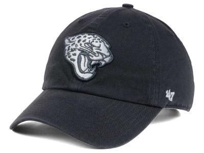 42fd23f03a699f Jacksonville Jaguars '47 NFL Charcoal White '47 CLEAN UP Cap | lids.com