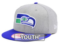 New Era NFL Kids Heather 2 Tone 9FIFTY Snapback Cap Adjustable Hats