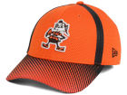 Cleveland Browns New Era NFL Ref Fade 39THIRTY Cap Stretch Fitted Hats