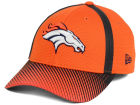 Denver Broncos New Era NFL Ref Fade 39THIRTY Cap Stretch Fitted Hats