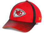 Kansas City Chiefs New Era NFL Ref Fade 39THIRTY Cap Stretch Fitted Hats