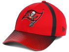 Tampa Bay Buccaneers New Era NFL Ref Fade 39THIRTY Cap Stretch Fitted Hats