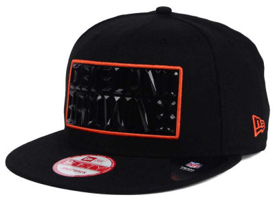 Cleveland Browns NFL Black Bevel 9FIFTY Snapback Cap Hats