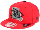Kansas City Chiefs New Era NFL TC State Flec 9FIFTY Snapback Cap Adjustable Hats