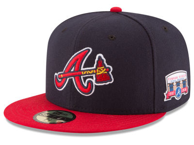 Atlanta Braves 2016 MLB Turner Field Collection 59FIFTY Cap Hats