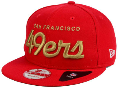 San Francisco 49ers NFL LIDS 20th Anniversary Script 9FIFTY Snapback Cap Hats