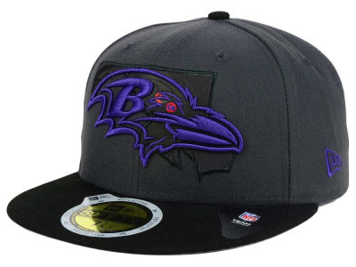 Baltimore Ravens NFL State Flective 3.0 59FIFTY Cap Hats