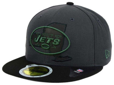 New York Jets NFL State Flective 3.0 59FIFTY Cap Hats