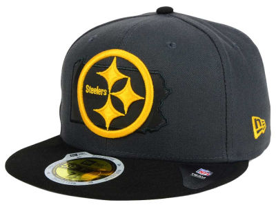 Pittsburgh Steelers NFL State Flective 3.0 59FIFTY Cap Hats