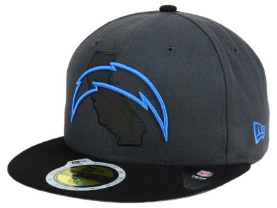 Los Angeles Chargers NFL State Flective 3.0 59FIFTY Cap Hats