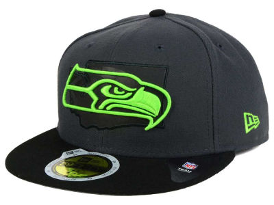 Seattle Seahawks NFL State Flective 3.0 59FIFTY Cap Hats