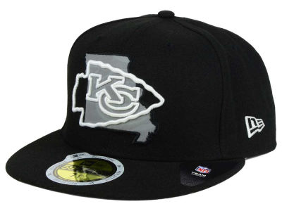 Kansas City Chiefs NFL State Flective Redux 59FIFTY Cap Hats