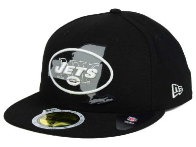 New York Jets NFL State Flective Redux 59FIFTY Cap Hats